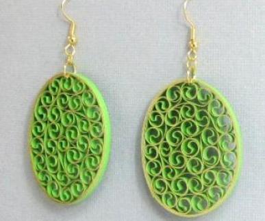 beehive-quilling-earrings