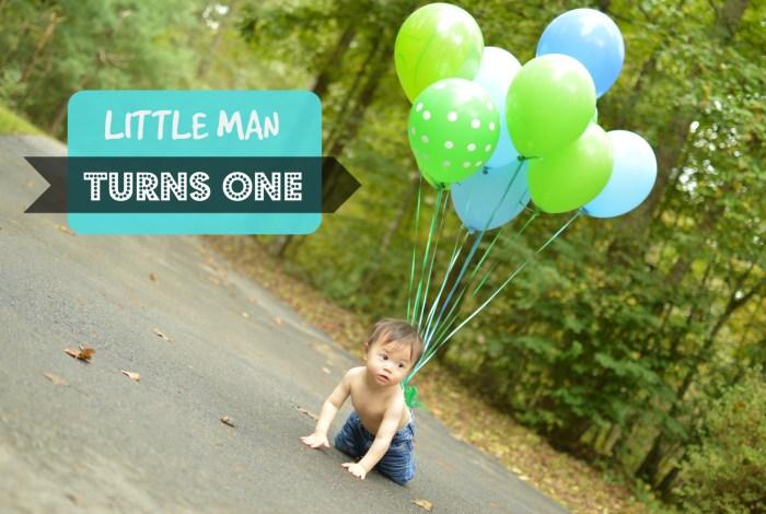 Little Man Turns One