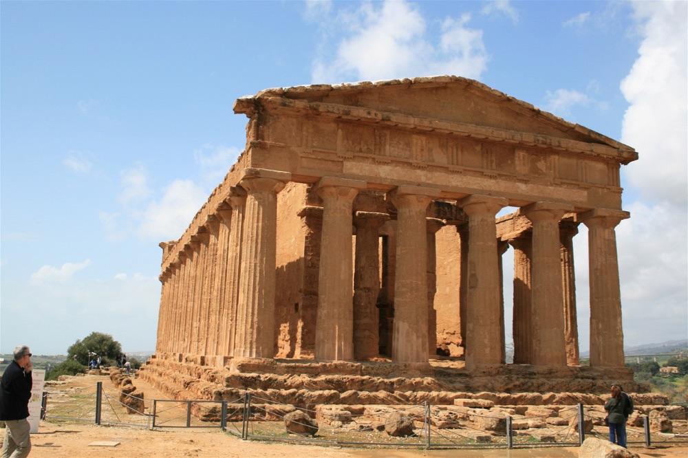 Motorhoming in Sicily Exploring Sicily\u0027s Greek Heritage in the