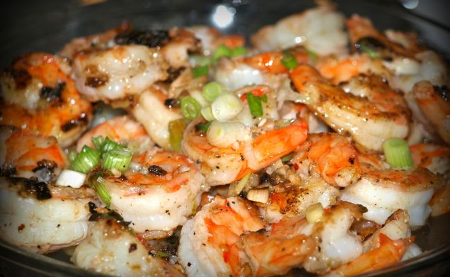 Grilled Shrimp With Sweet Chili Lime Sauce Life In Pleasantville