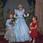 Meeting Cinderella Christmas Morning