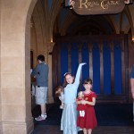 Entering Cinderella's Castle