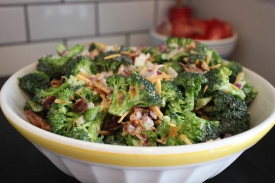 classic broccoli salad