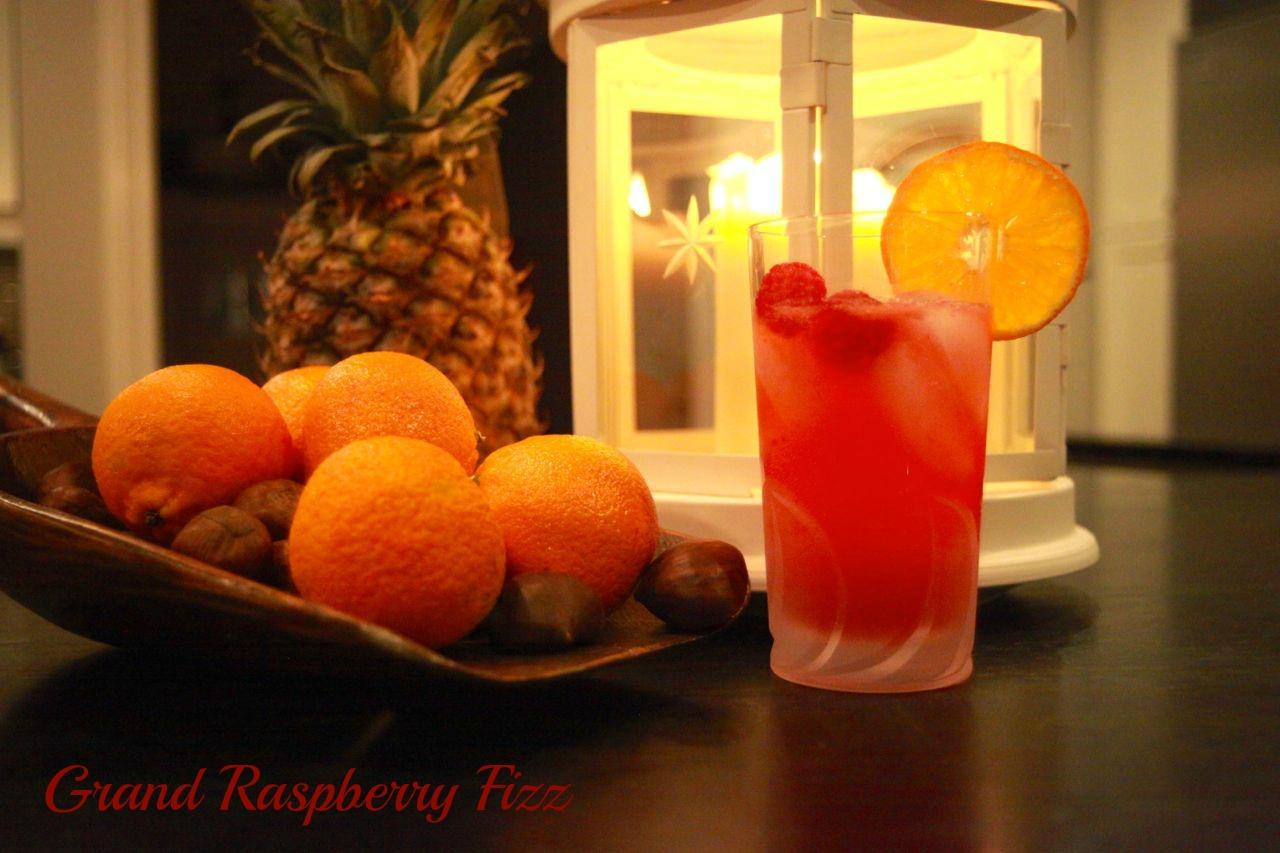 grand raspberry fizz