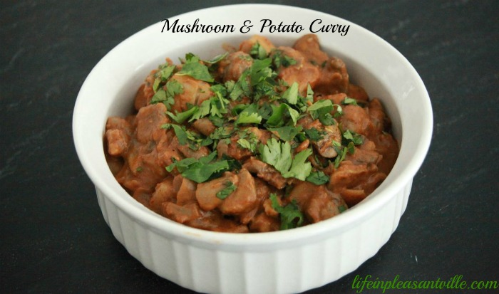 mushroom & Potato curry