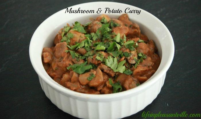 mushroom & Potato curry