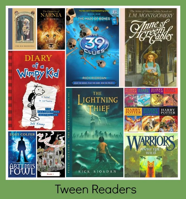 Best children 39 s book series from 3 to 13 life in for Bureau 13 book series