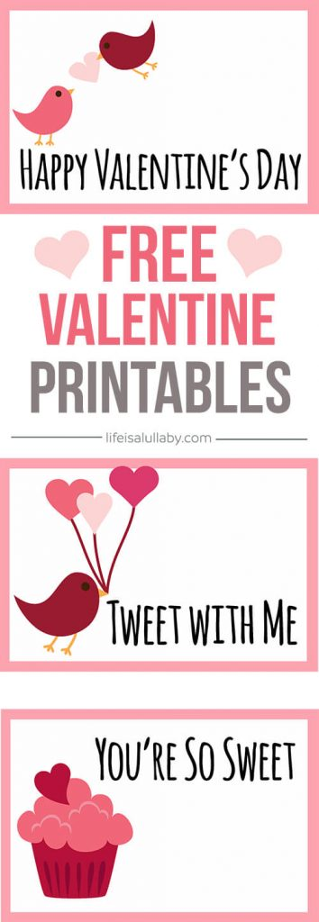 Free Valentine\u0027s Day Cards Printable - The Best Ideas for Kids