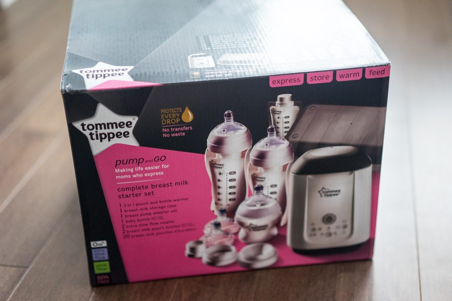 Tommee Tippee Pump and Go System Box