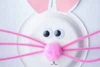 Paper Plate Easter Bunny Craft - Life is a Lullaby