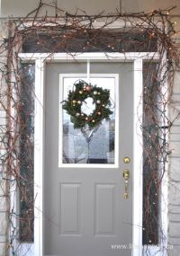 Mixed Metals Christmas Front Porch - Life is a Party