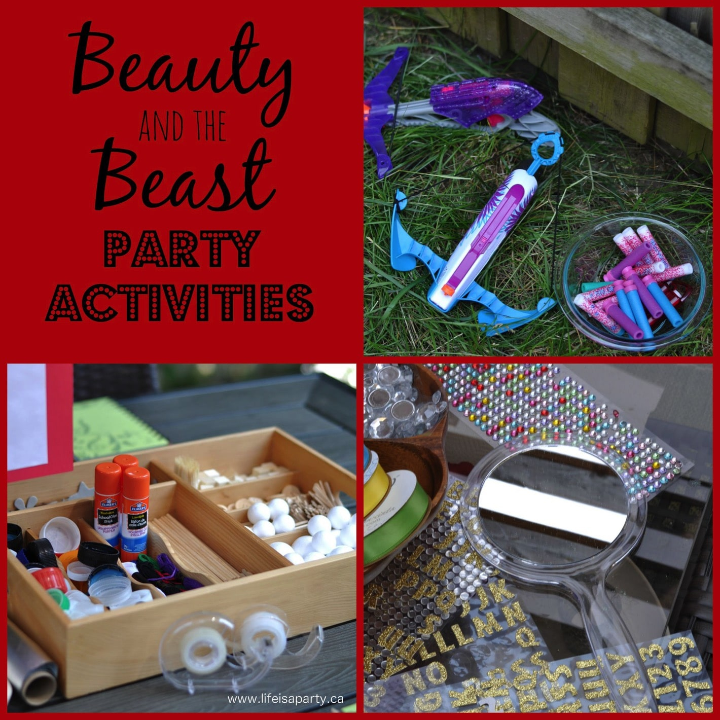 Fullsize Of Beauty And The Beast Party Ideas