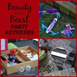 Small Of Beauty And The Beast Party Ideas