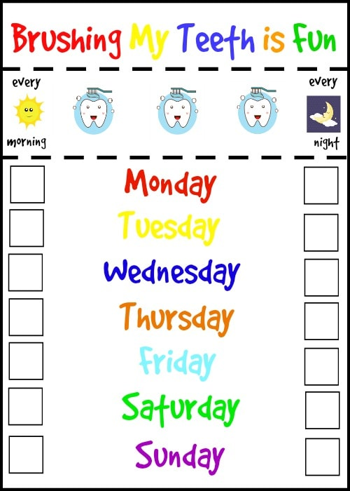 Make A Cute Calendar Online 4 Ways To Make A Calendar Wikihow 3 Tips To Make Brushing Teeth Fun For Kids Life Is