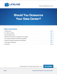 Should you outsource your primary data centers?
