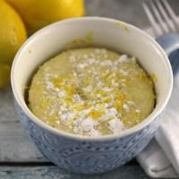 Lemon Mug Cake Recipe
