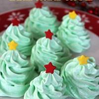 Meringue Christmas Trees