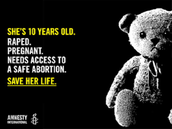 10 Year Girl Pregnant Photos Wallpapers Amnesty International Pushes For Abortion On Baby Of 10