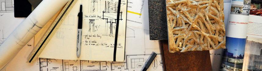 Architect Bob Borson's Desk
