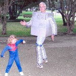 Kate and Daddy Halloween 2008