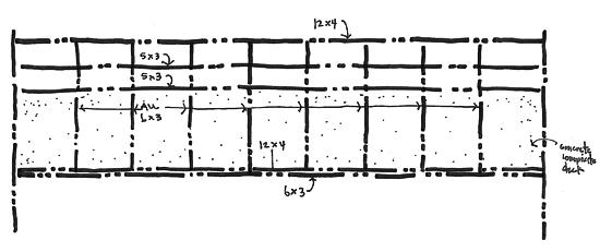 Sale Street Bridge Sketch