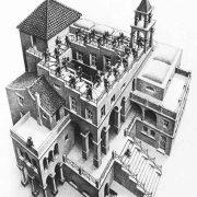 MC Escher ascending and descending