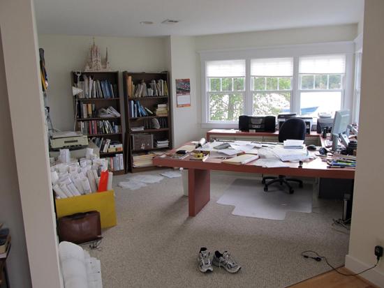 Doug Burke's Desk