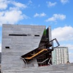 Perot Museum of Nature & Science view from highway
