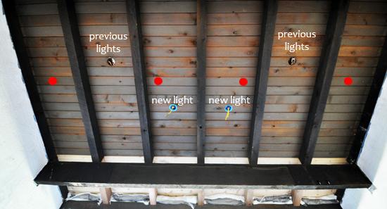 new lighting layout