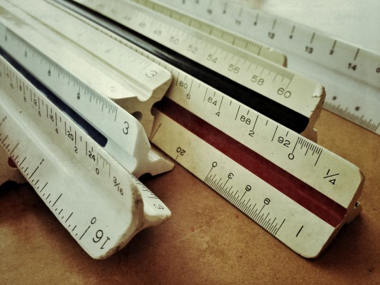 architectural and engineering scales