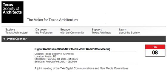 TSA Digital Communications First Meeting