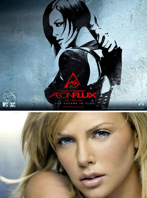 Aeon Flux with Charlize Theron