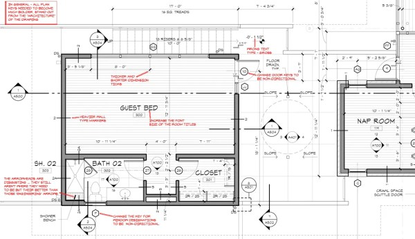 KHouse Modern Graphic Standards Floor Plan