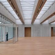Renzo Piano Kimbell Museum Lobby