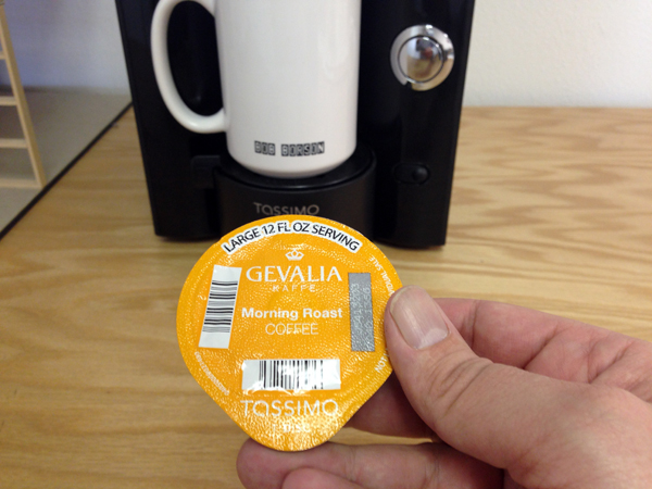The Tassimo T Disc
