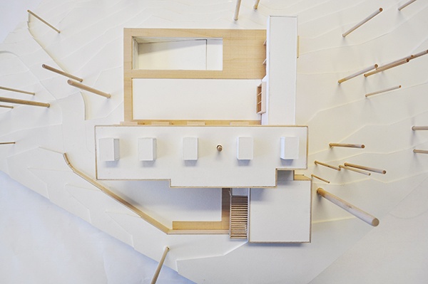 CHouse Modern Model plan view