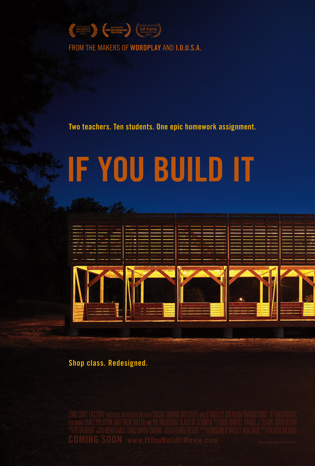 'If You Build It' movie poster