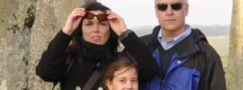 The Borson Family at Stonehenge