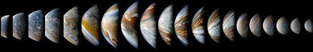 Jupiter -- Source: NASA/JPL-Caltech/SwRI/MSSS/Kevin Gill