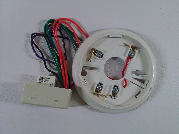 Simplex 4098-9683 2 Wire Relay Base Life Safety Consultants