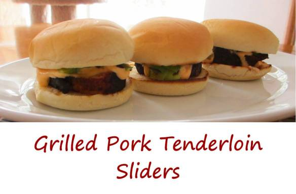 Grilled Pork Tenderloin Sliders with Chipotle Lime Mayonnaise - Life's ...
