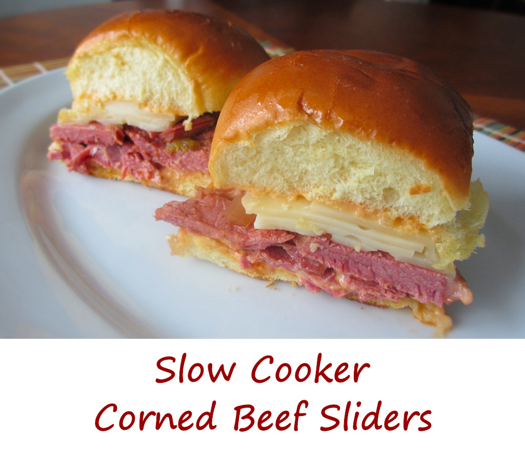 You can certainly add sauerkraut to make these sliders more Reuben ...