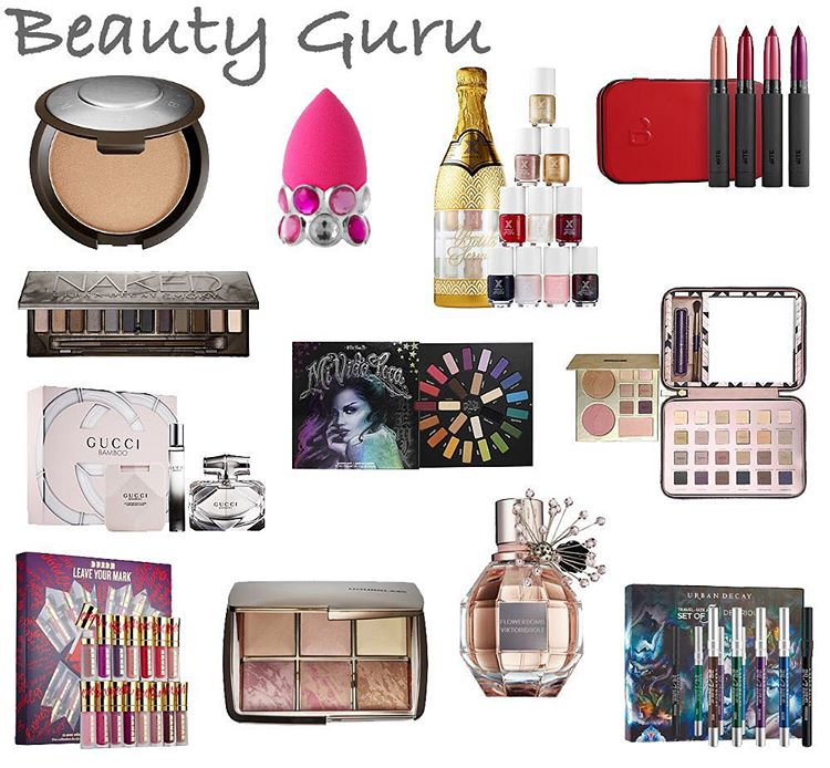 Gift Guide for the Beauty Guru is up on thehellip