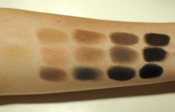 NARS The NARSissist Eyeshadow Palette Swatches
