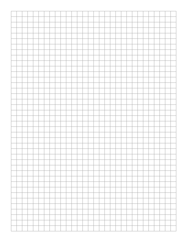10 Popular Types Free Printable Graph Paper LifeSolved - Making Graph Paper In Word