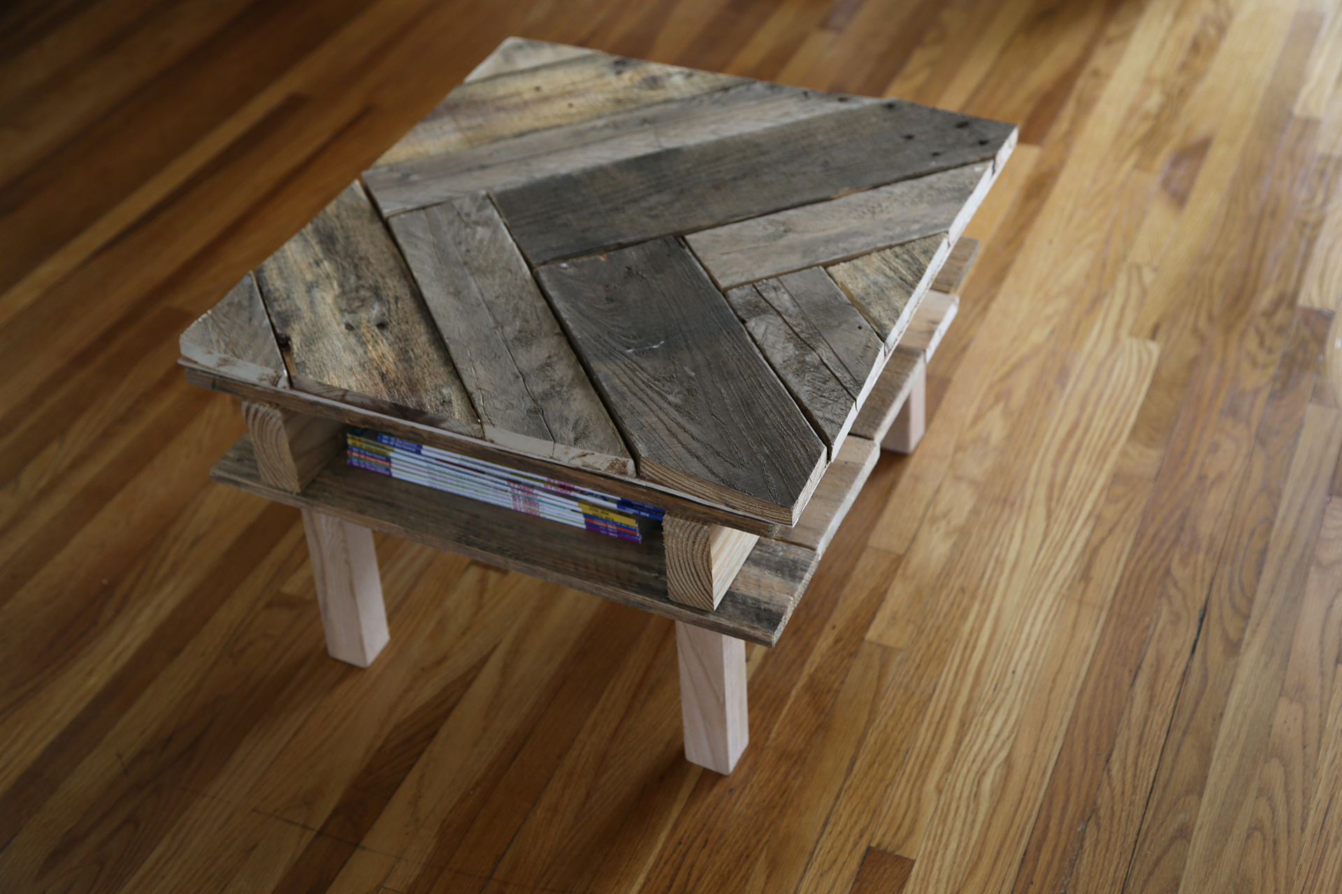 How To Make A Coffee Table From Wooden Pallets Review
