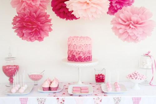 Medium Of Bridal Shower Decorations