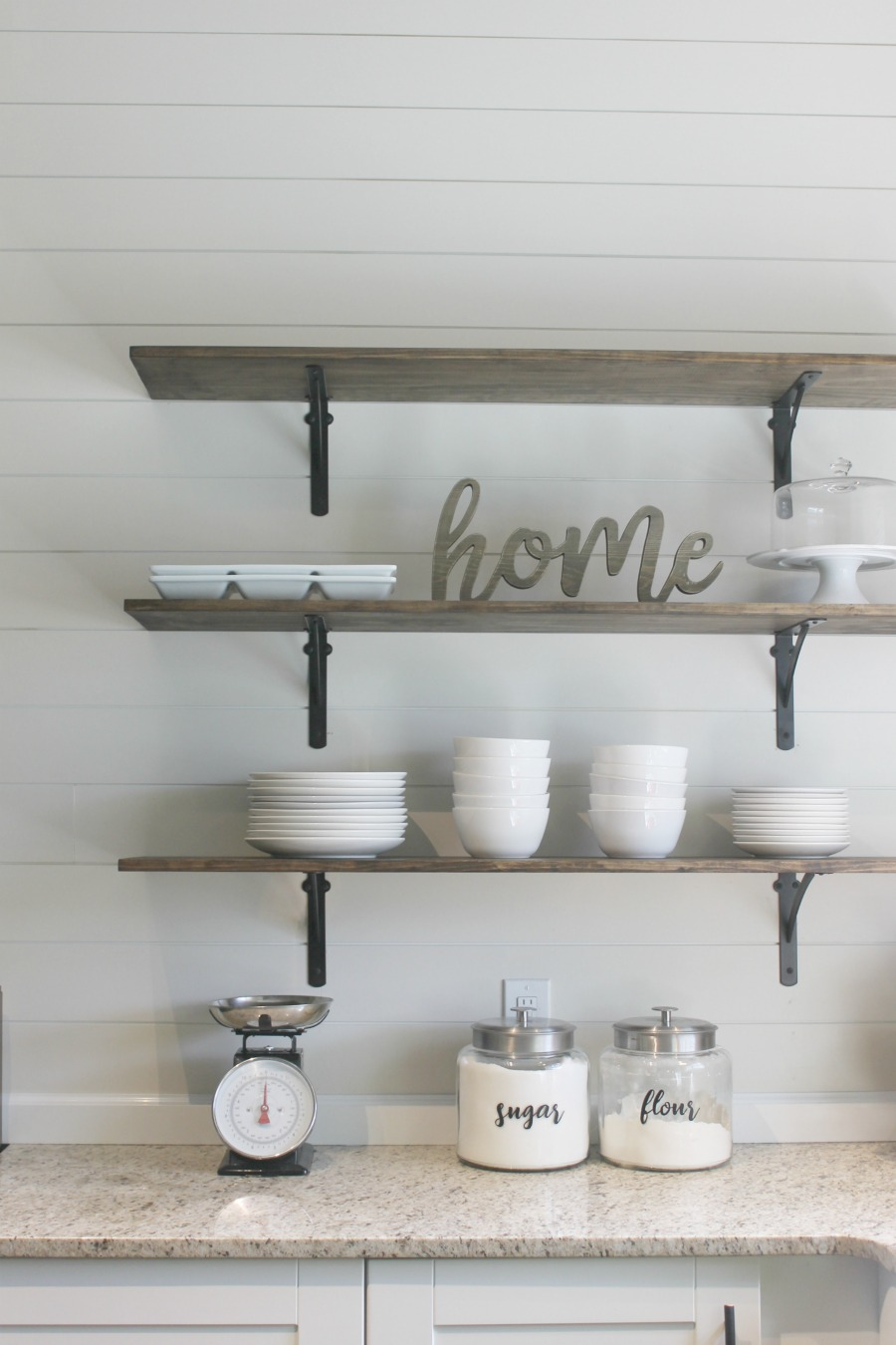 Diy Kitchen Shelves For Under 100 How To Life Storage