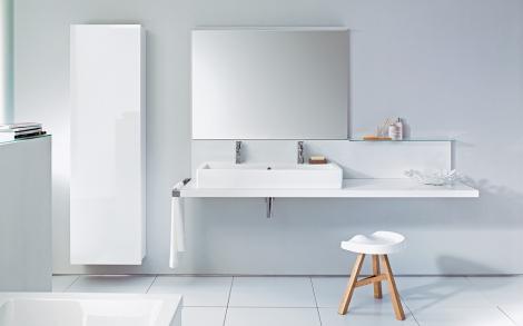 Konsole Delos fürs Bad von Duravit Lifestyle und Design - badezimmer konsole