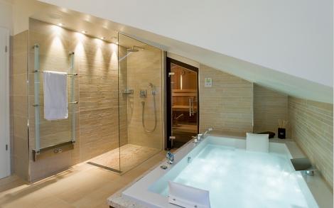 Badezimmer, Bäder, Baddesign, Wellness, Sedlmayr Lifestyle und - badezimmer mit sauna